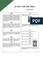 Poes Timeline