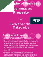 DBA 100 Business as Property