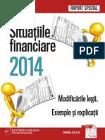 Raport Special Situatiile Fin 2014