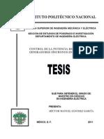 Control de La Potencia Reactiva de Generadores Sincronos en Paralelo