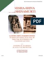 Ganesha Shiva Dakshinamurti