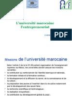 UNIVERSITE MAROCAINE ET ENTREPRENEURIAT (1).ppt