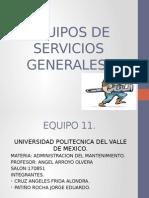 Equipos de Servicios Generales