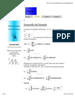 Serie de Fourier Ejemplo