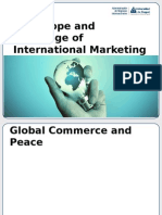 Summary of  The Scope and Challenge of International Marketing