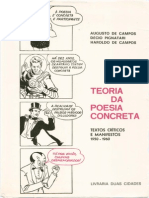 Teoria Da Poesia Concreta Ac Dp Hc Tela