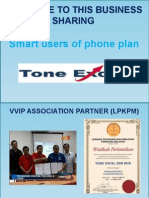 Tone Excel English Version Slide