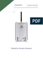 PCS200 Instalare Ro