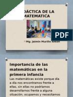 Didáctica de la matemática.