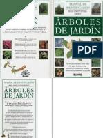 Botánica - Árboles de Jardín - Manual de Clasificación