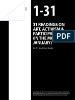 Art and Activism - Reader