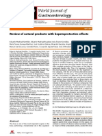 Review of Natural Products With Hepatoprotective Effects