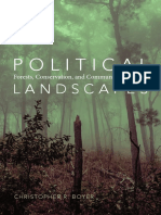 Political Landscapes by Christopher R. Boyer