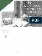 Las Nuevas Ciencias Sociales (1)