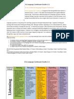 aisb eal language continuum grades 1-2