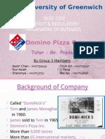 Domino Pizza Presentation