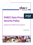 PARCC Privacy Security Policy