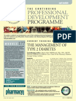 The Management of Type 2 Diabetes
