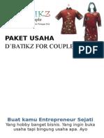 Paket Usaha D'Batikz for Couple