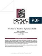 The Need for Real-Time Payments in the US