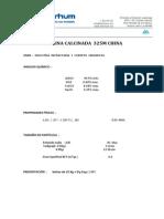 Alumina Calcinada FAL325