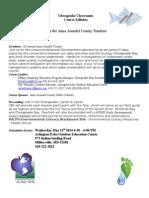 2014 chesapeake classrooms aaco e lit syllabus-kim haggard