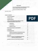 2013 Expert Team Report