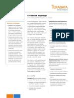 Credit Risk Advantage by SAS