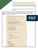 Matlab Programs Power Sytsems