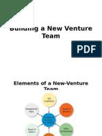 Building a New Venture Team