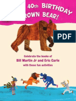 Brown Bear What Do You See Activity Book