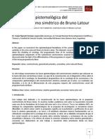 La posición epistemológica del constructivismo simétrico de Bruno Latour