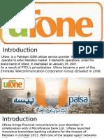 Ufone Upaisa Presentation