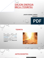 Fundicion Energia Quimica (Termita)