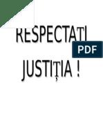 Respectati Justitia