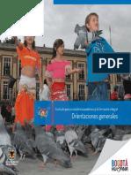 Currículo para la excelencia académica y la formación integral