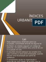 Índices Urbanísticos