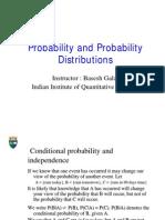 Probability - Probability Distributions