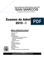 Examen Unmsm 2015