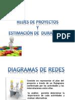 Redes de Proyectos y Estimacion de Duraciones