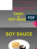 Chao, Soy Sauce Topic 6