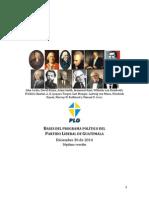Programa Político PLG Versión 7