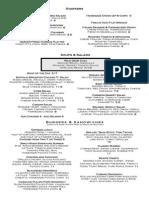 brg 2015 menus