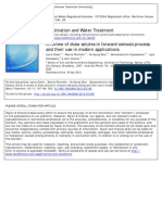 2012 a Review of Draw Solutes in Forward Osmosis Process and Their Use in Modern Applications