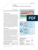 Pathophysiology and Investigation of Coronary Artery Disease