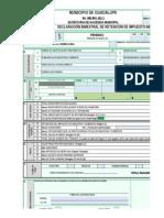F-1000 Declaracion de Retencion de Industria y Comercio
