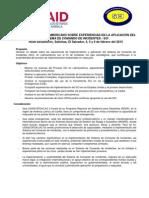 Agenda Foro SCI PDF