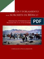 Memoria Migracion y Poblamiento en El Noroeste de México