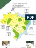 Mapa Da Fome Entre Os Povos Indigenas Do Brasil