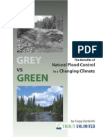 Natural Flood Control in a Changing Climate